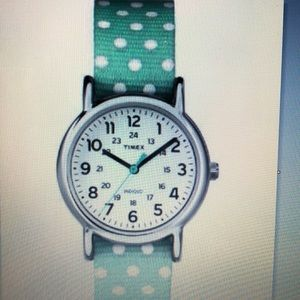 Timex Womens Weekender Green Revers No Color
